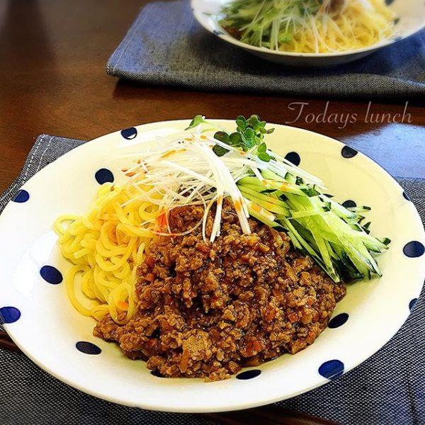 美味しいレシピ!定番のジャージャー麺