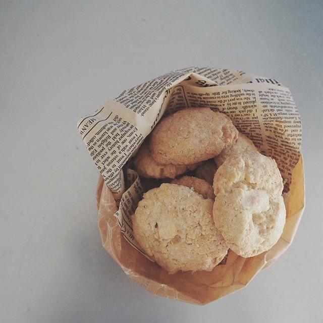 スイーツに!ホワイトチョコチャンククッキー