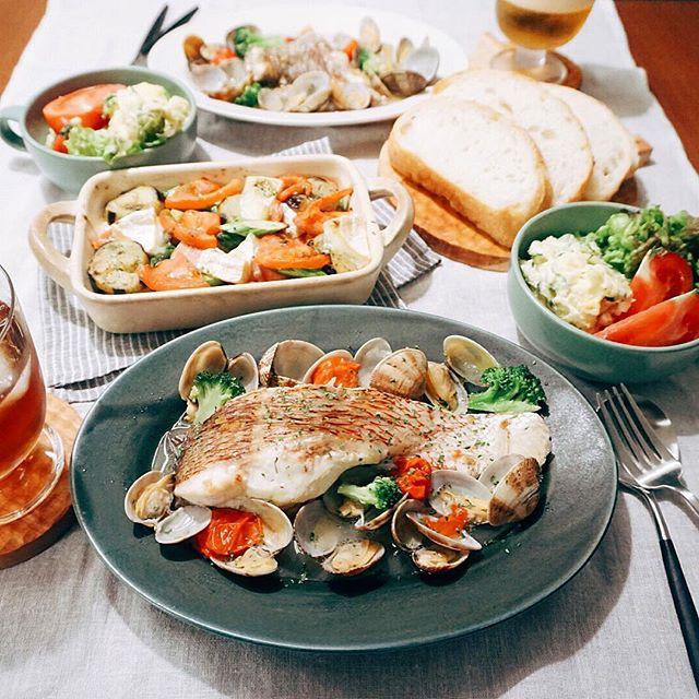 人気のイタリアン!鯛のアクアパッツア