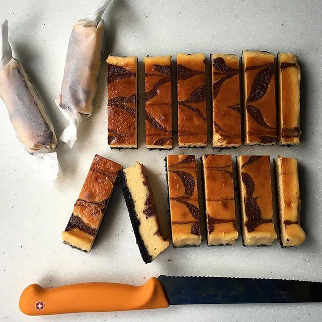 手作りチーズケーキ9