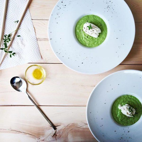 夕食の献立に合う!ブロッコリーのスープ