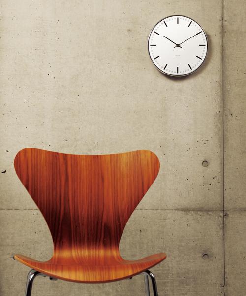 [NORDIC Feeling] Arne Jacobsen / アルネ・ヤコブセン   Clock 43631(City Hall 210mm)