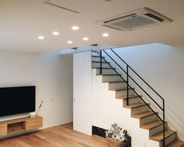 階段下収納が使いやすい配置