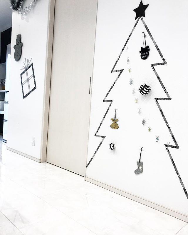 マステアート実例②クリスマスツリー2