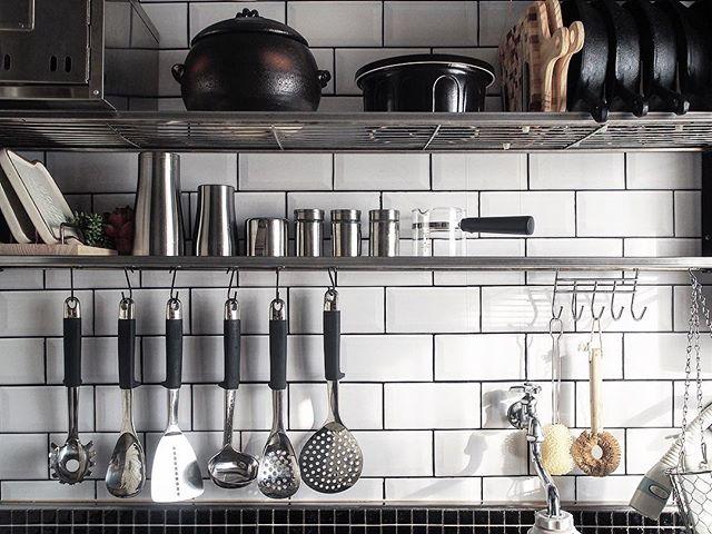 素敵キッチンのインテリア実例9