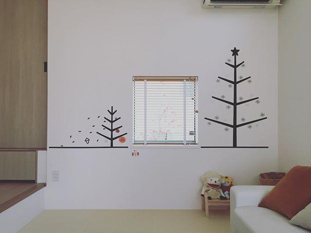 マステアート実例②クリスマスツリー