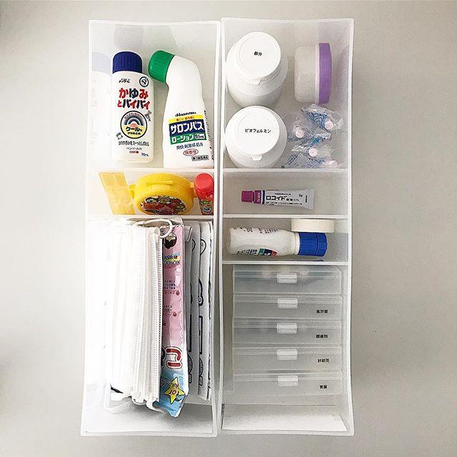 薬の収納アイディア2