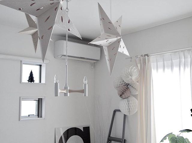キャンドル型ランプで部屋の飾り付け