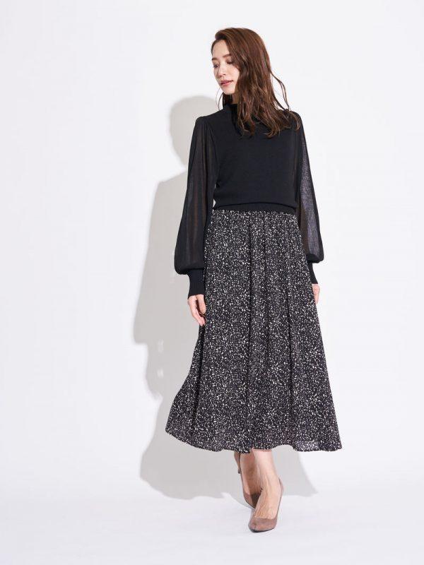 柄スカート3