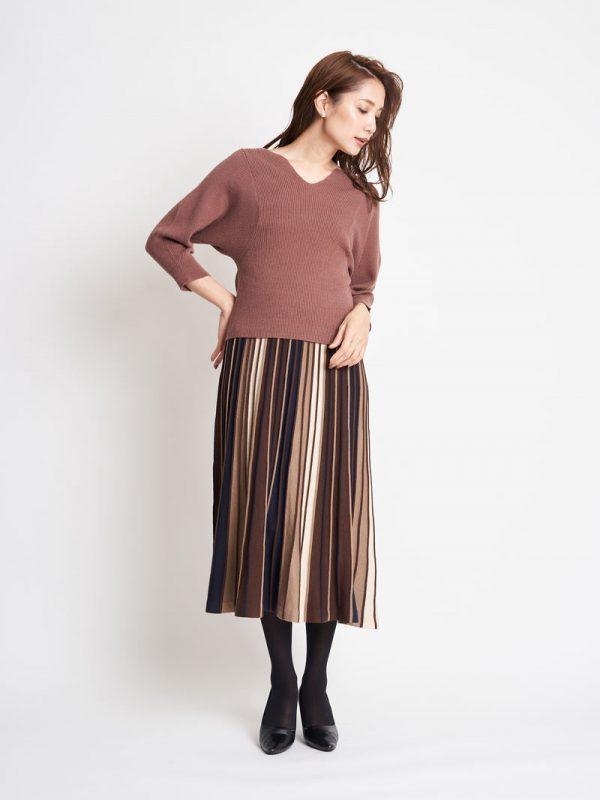 柄スカート2