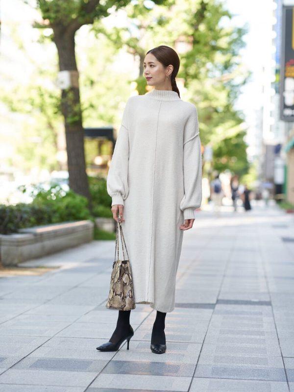 大人が着たい好感度ワンピースファッション