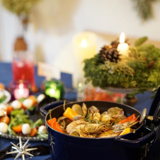 クリスマスのテーブルコーディネート5