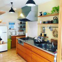 壁付けキッチンのおしゃれレイアウト実例集!横長・縦長別に配置のコツをご紹介