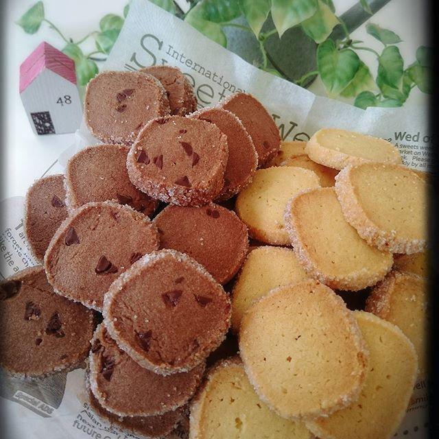 友チョコに!アイスボックスクッキー