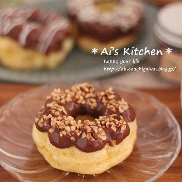 ホットケーキミックスで手作りドーナツ