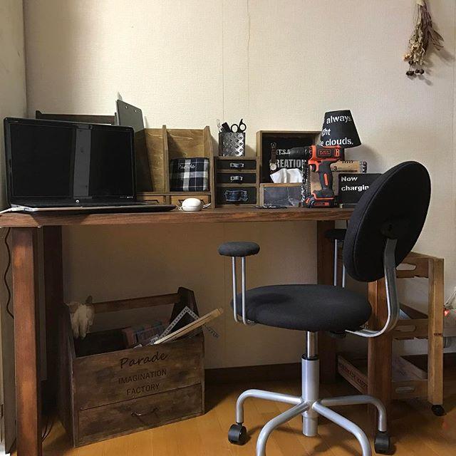 集中できる仕事部屋のレイアウト13
