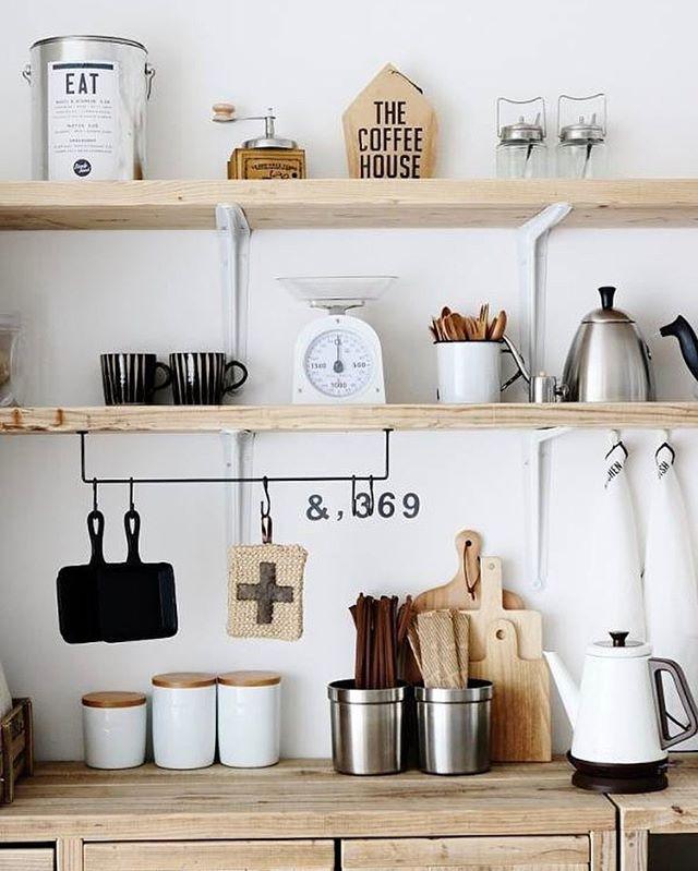 素敵キッチンのインテリア実例4