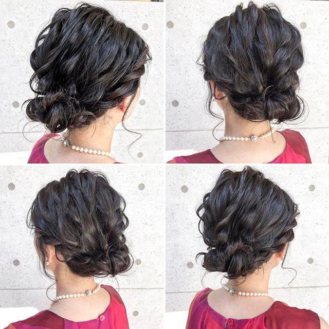 ドレスに似合う髪型11