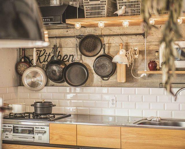素敵キッチンのインテリア実例3