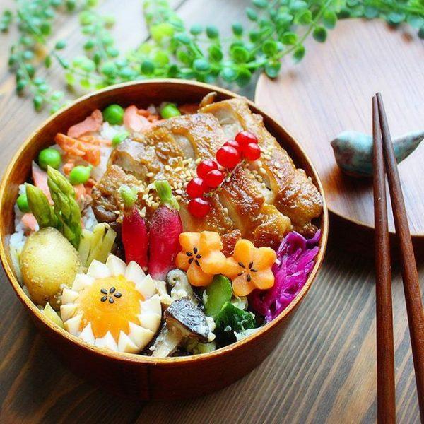 栄養満点!紅鮭とグリーンピースの混ぜご飯