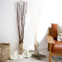 お部屋を優しく照らす。天然木の枝にLEDライトを散りばめられた「ブランチズ」