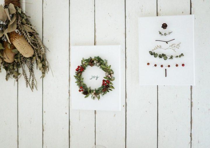 「クリスマスディスプレイを楽しむ」2