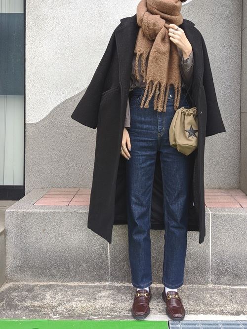 [MOUSSY] SINGLE BREASTED LONG コート