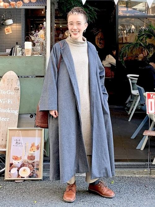 大人ベリーショートに似合う冬服2