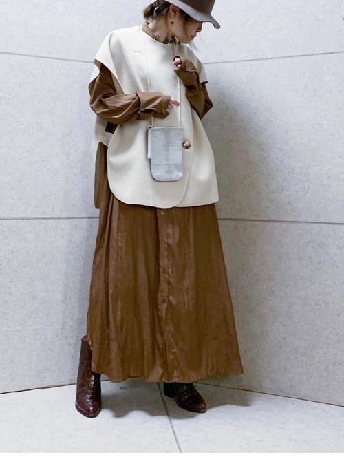 [Birthdayroom] 【ファッションインフルエンサーmisato×Birthdayroom】ポンチョ風ベスト