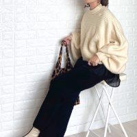 大人気のGUワイドパンツコーデ【2021】プチプラで作るトレンドスタイル