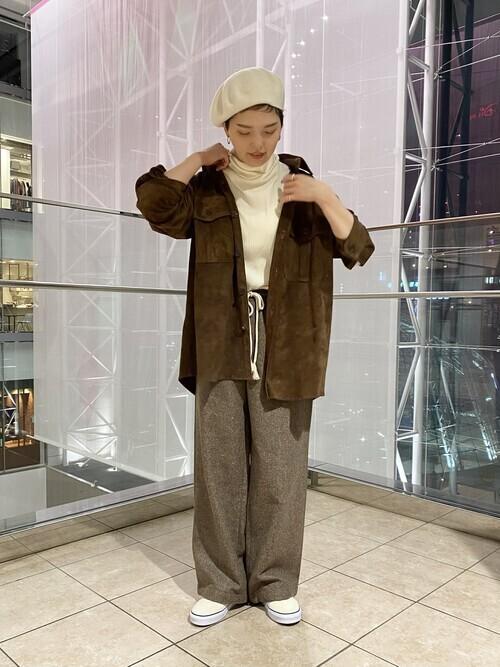 大人ベリーショートに似合う冬服