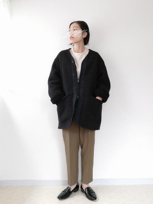ユニクロフリースジャケット