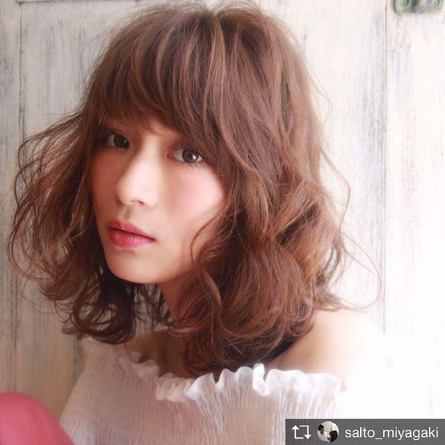 ドレスに似合う髪型6