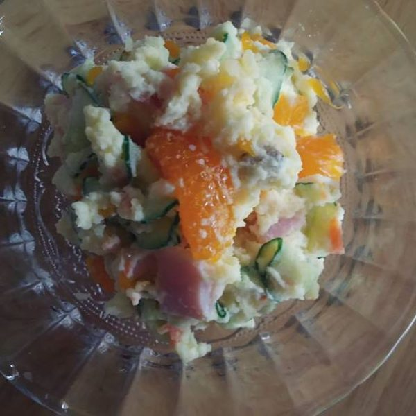 柑橘系でさっぱり!みかん入りポテトサラダ