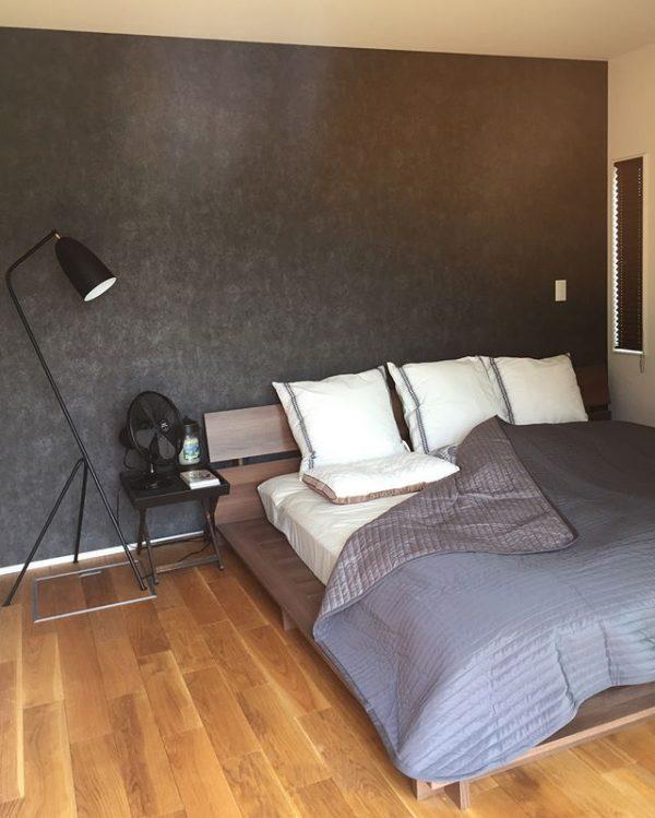 ゆったり眠れる寝室インテリア