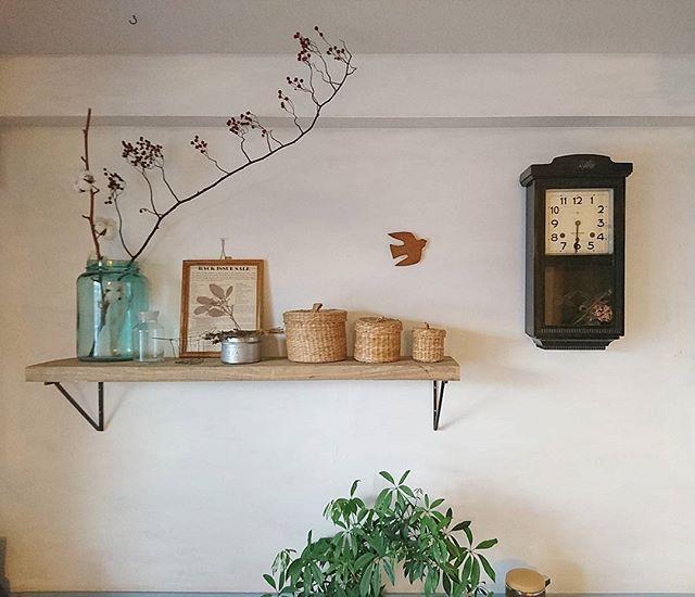 壁掛け時計でかっこいい部屋