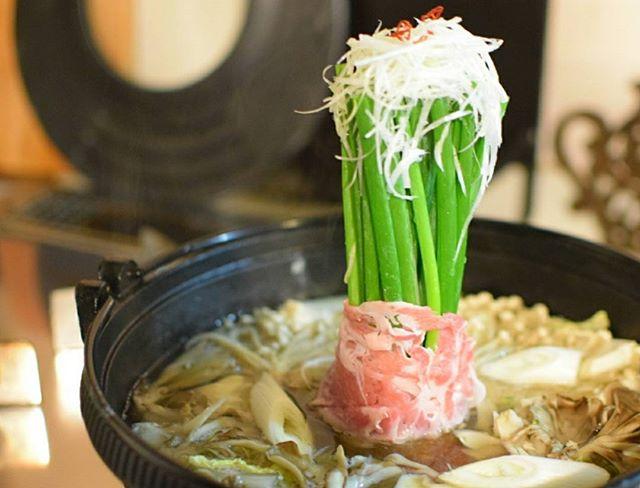 美味しいレシピ!豚ネギ巻き鍋