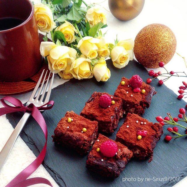 ヘルシーな本格チョコレートのテリーヌ