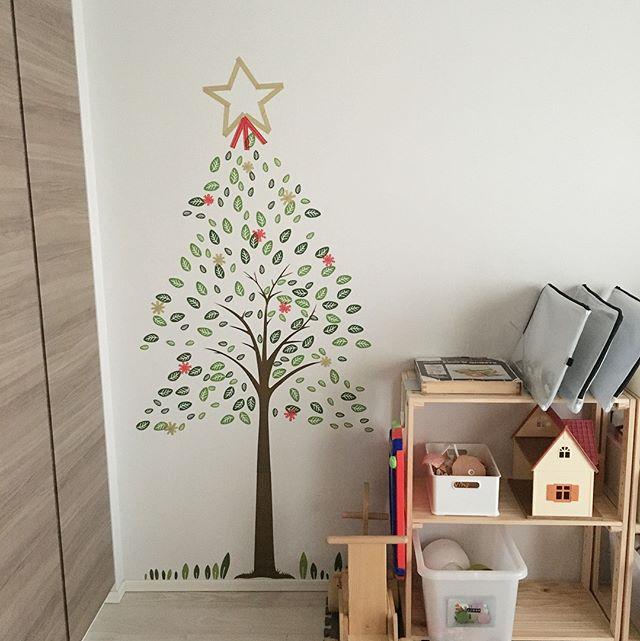 マステアート実例②クリスマスツリー5