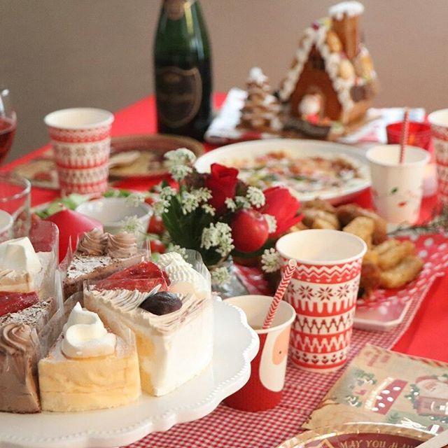 クリスマスのテーブルコーディネート3