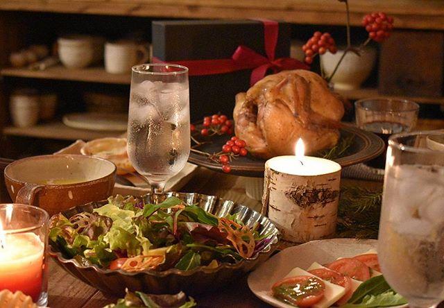 クリスマスのテーブルコーディネート7