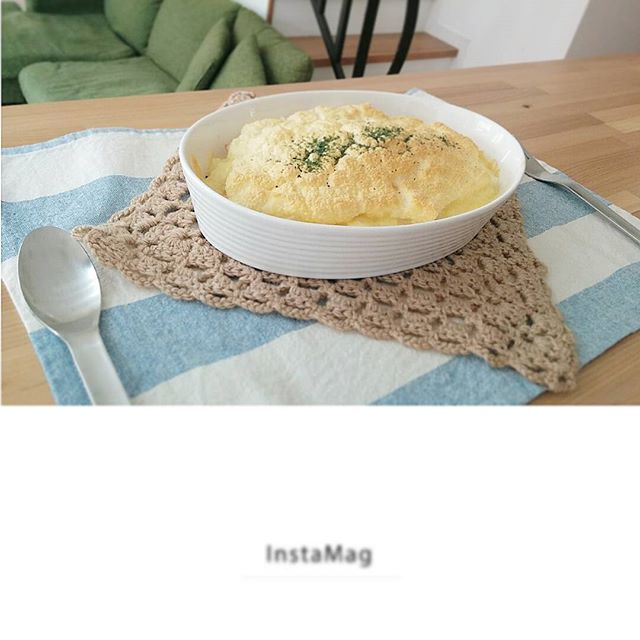 ふわふわの人気料理!スフレチーズリゾット
