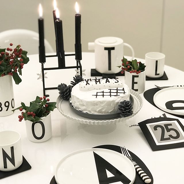 クリスマスのテーブルコーディネート10