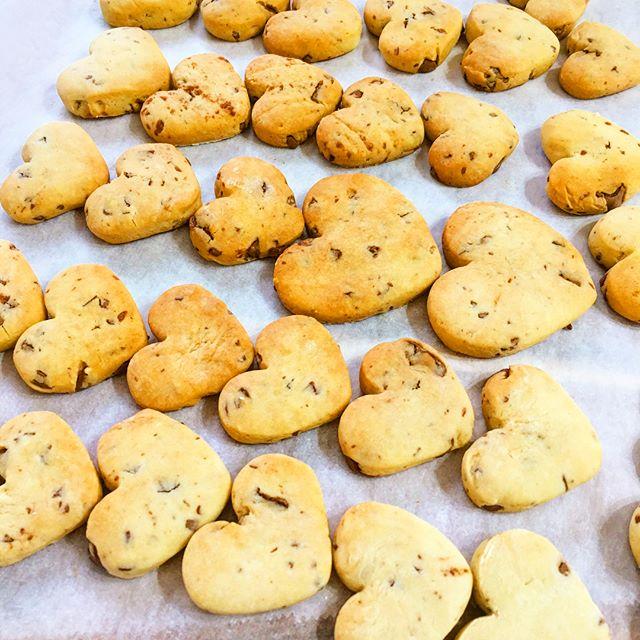 大量 簡単 バレンタイン クッキー