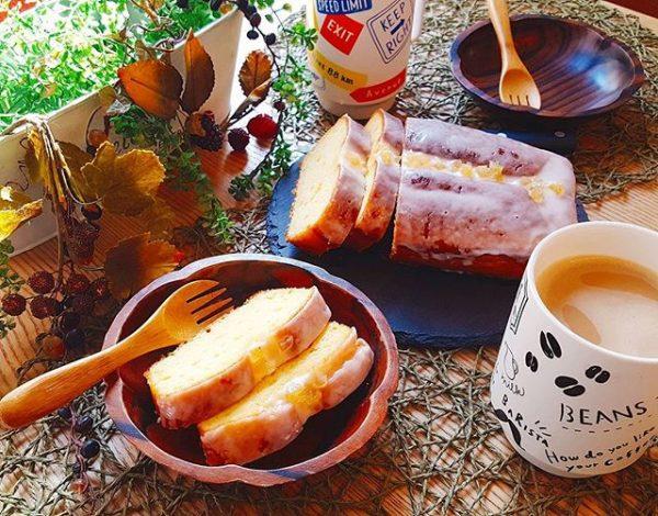 手作りで人気のレシピ!レモンケーキ