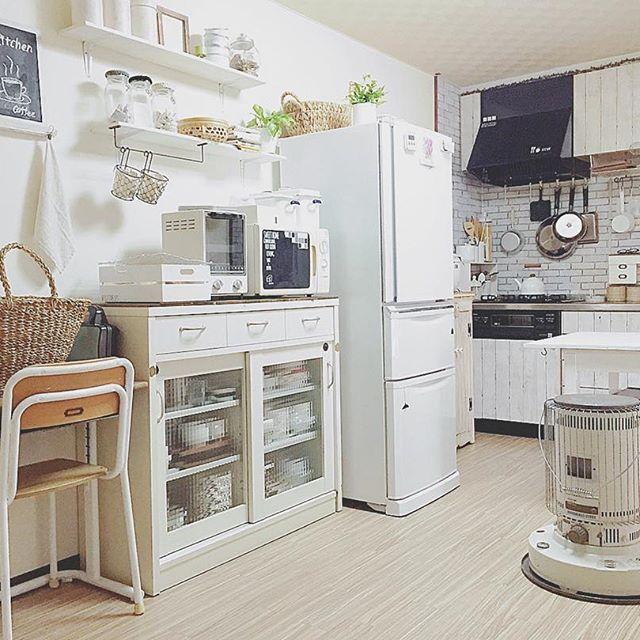 壁付けキッチンのレイアウト17