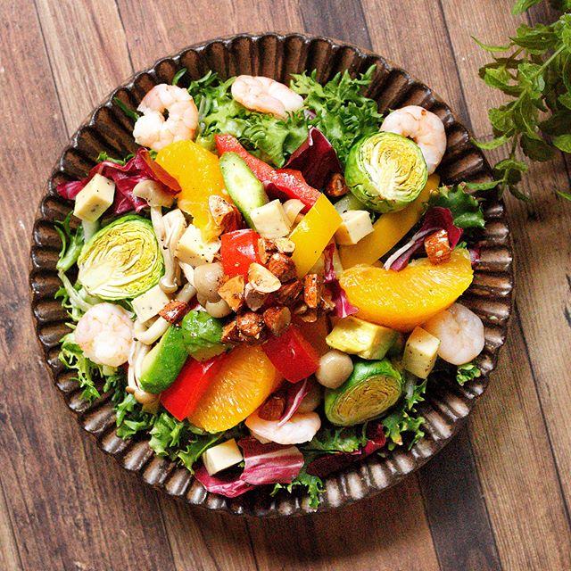 栄養満点ホットサラダ
