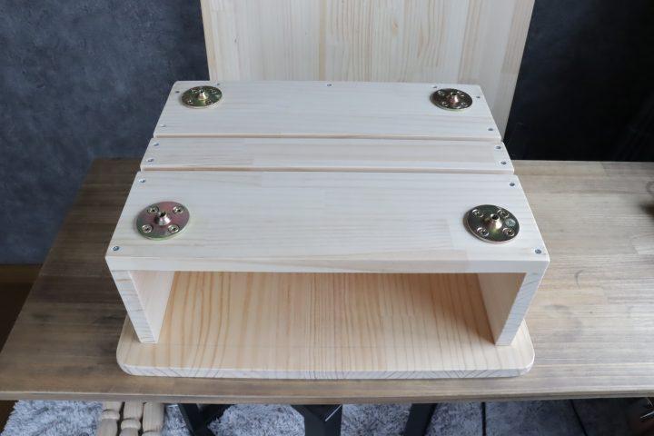 サイドテーブル DIY9