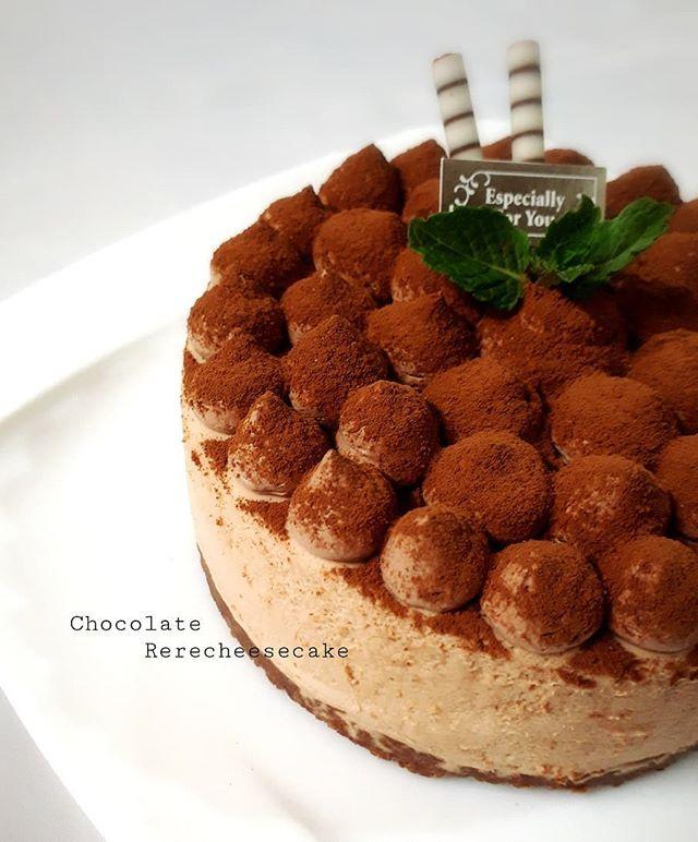 おすすめ!チョコレートレアチーズケーキ