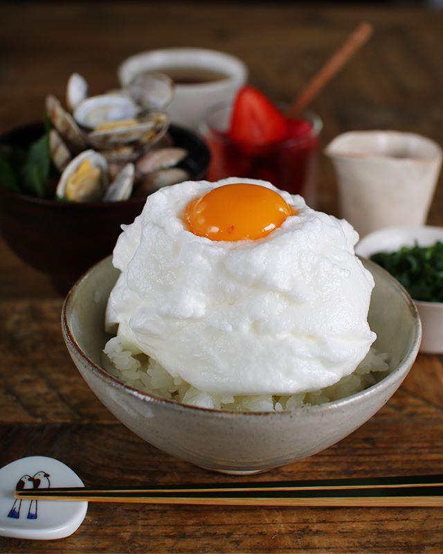 卵白を活用した簡単料理!メレンゲTKG